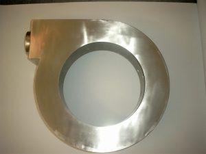 Ringabsaugung / Fassabsaugung aus Edelstahl für Rührgerät – Durchmesser 1.000 mm