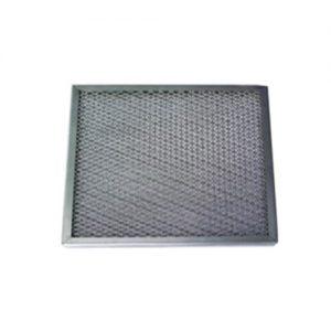 Streckmetall-Filter - schützt vor Funkenflug, wird direkt in den Anlage eingebaut