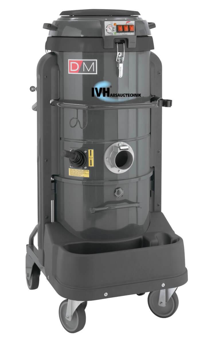 DM3 - Industriesauger für alle industriellen Anwendungen mit 100l Sammelbehälter