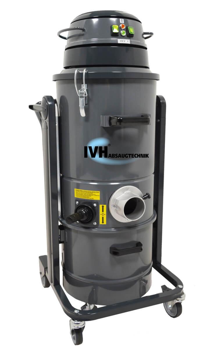 MTL 452 - kompakter und leistungsstarker Industriesauger mit großer Filteroberfläche