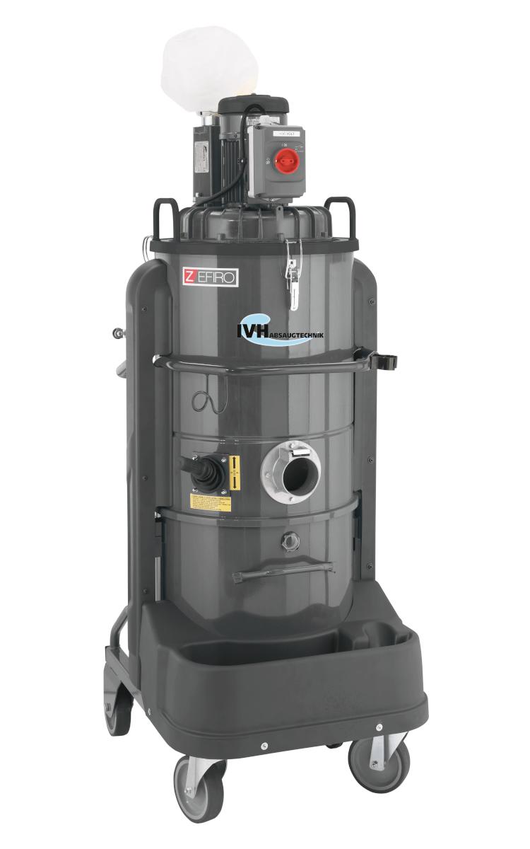 ZFR 75 - gleichzeitiges Absaugen von Staub, Feststoffen und Flüssigkeiten in jeder industriellen Anwendung