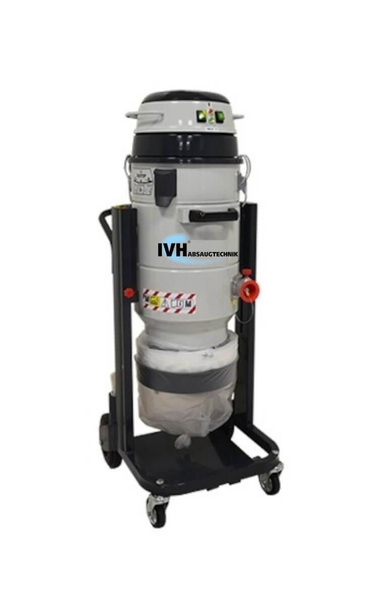 Mistral - MTL 202 DS Longpoac - Absaugung für Feinstäube mit Longpac für eine sichere Entsorgung des Sauggutes